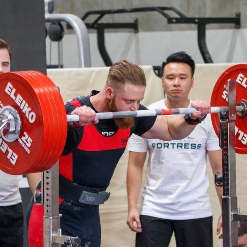 Nicholas Walters Powerlifting Coach